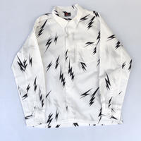 "MASSES /  "" Lightning Bolt Shirt "" (black)"