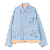 """PHINGERIN  """"Scouty coverall"""" (sax blue)"""