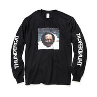 THUNDERCAT / 『DRUNK』Remix Long Sleeve T-shirt (black)