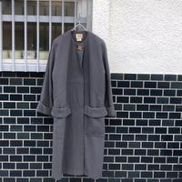 "HERMES  "" no-collar coat"" (Hi brand hurugi)"