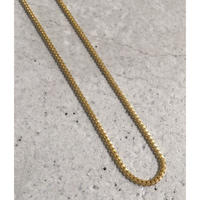 "14K GOLD NECKLACE ""Miami Cuban link""(55cm)"