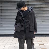 PHINGERIN  /  puffle coat  (black)