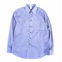 "90's GIANNI VERSACE "" check  L/S  shirt"" (Hi brand hurugi)"