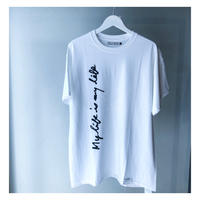 """FORTY PERCENT AGAINST RIGHTS /""""My life SS Tee 07""""(white)"""