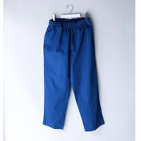 THREE FACE  / indigo Rip-Stop easy pant (indigo )