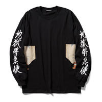 Delivery Hells   /  Lick L/S tee (black)