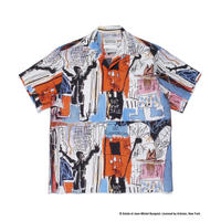 "WACKO MARIA × JEAN-MICHEL BASQUIAT /  ""Hawaiian shirt S/S  (type-3)"
