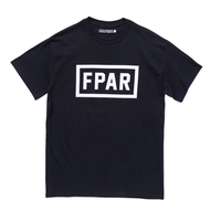 FORTY PERCENT AGAINST RIGHTS / COLLEGE SS TEE 04(black)