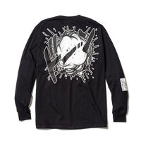 "F-LAGSTUF-F  x DRAGON BALL / ""Super saiyans"" L/S Tee (black)"