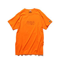 White Aibum Silhouette S/STee (orange)