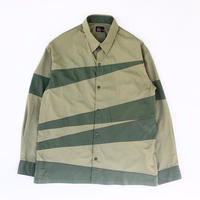 MASSES /  CRAZY PATTERN SHIRT (light green)