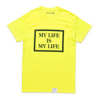 FORTY PERCENT  AGAINST RIGHTS  / MY LIFE BOX SS TEE 03 (green)