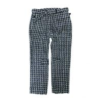 PHINGERIN /Bontage pants hi-tweed (black)