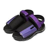 F-LAGSTUF-F x Tomo & Co / City Field Sandal (black ×purple)