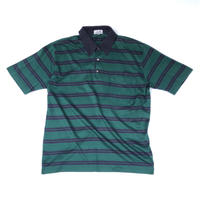 HERMES /  Pocket S/S Polo Shirt  (green) (spice)