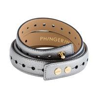 PHINGERIN /FLEXI BELT (silver)