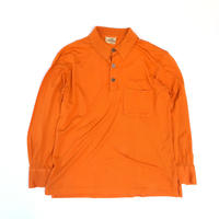 HERMES / L/S Polo Shirt (spice)
