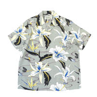 WACKO MARIA / HAWAIIAN SHIRT S/S (type-8,gray)
