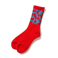 "F-LAGSTUF-F / ""NOISE"" SOX (red)"