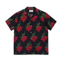 """WACKO MARIA """"Hawaiian shirt"""" type-2( black )"""