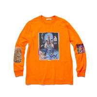 "F-LAGSTUF-F / ""Siva"" L/S Tee (orange)"