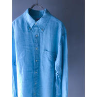 "Brooks Brothers ""B.D. Linen Shirt""  (spice)"