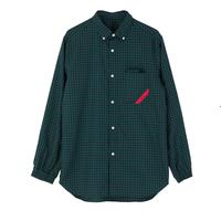PHINGERIN / SOUP SHIRT GINGHAM OX (green)