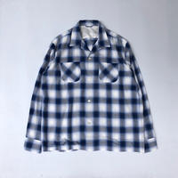 THREE FACE / LS  Open Color Shirt (オンブレチェック)