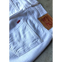 "Levi's ""501 white denim pant"" (spice)"