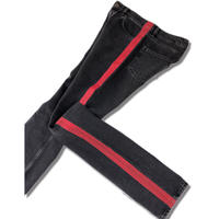 "2016 BALENCIAGA ""Red line  Denim Pant""   (Hi brand hurugi)"