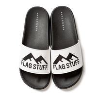 """F-LAGSTUF-F  """"FW"""" LOGO SANDAL (white)"""