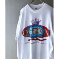 "QUEEN  ""90's offical inter national fan club tee "" (spice)"