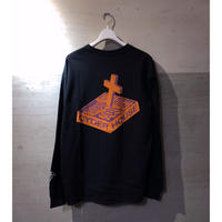 "CYDERHOUSE ×頭脳警察  ""Brain Police 1 Long Sleeve shirt""(black)"