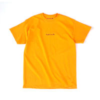 FORTY PERCENT AGAINST RIGHTS / MY LIFE T-SHIRT (orange)