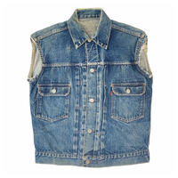 "50's Levi's 507XX "" 2nd ""Cut off Denim Jacket "" 片面タブ(spice) #A1"
