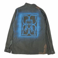 70's Fatigue shirt  / Boming  by WOOF