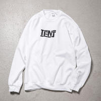 "Tenjinyu / 10th ""BUSINESS AS USUAL"" Sweat (white)"
