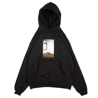 Cabaret poval / Chairs Hooded Sweatshirt (black)