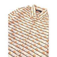 "90's ""elephant"" L/S shirt  (spice)  #A1"