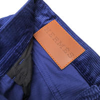 "HERMES  ""Jeans Jacron Cuir Velours Côtelé"" #5 (hi brand furugi)"