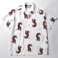 WACKO MARIA  /  hawaiian shirt (type-18)  (white)