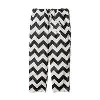 "F-LAGSTUF-F ""ZIG-ZAG pajama pants (white×black)"