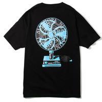 "Diaspora skateboards  / ""Fan Magic Circle"" Tee (black)"