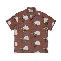 """WACKO MARIA /  """"Hawaiian shirt S/S  (type-2)  (brown)"""