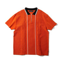 Diaspora skateboards / Swell knit polo (flame)