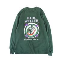 "1993 PAUL WELLER ""THE WEAVER TOUR Tee"" (spice)"