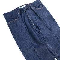 "2003 YVES SAINT LAURENT "" Denim Pants  ""  (spice)"