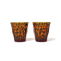 "WACKO MARIA / DURALEX ""Two sets glass""(yellow) 2個セット"