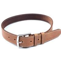 "HERMES(マルジェラ期)。 / Leather Belt ""ETRIVIERE""  (Hi brand hurugi)"