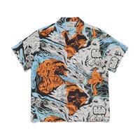 WACKO MARIA  /  Hawaiian shirt S/S (type-1)(ivory)